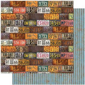 Papel-Scrapbook-Litoarte-305x305-SD-1113-Rustico-Placas