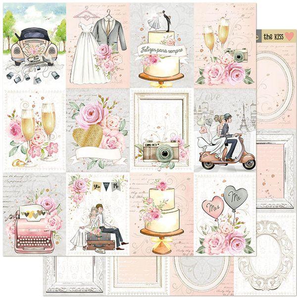 Papel-Scrapbook-Litoarte-305x305-SD-1120-Noivos-Brinde