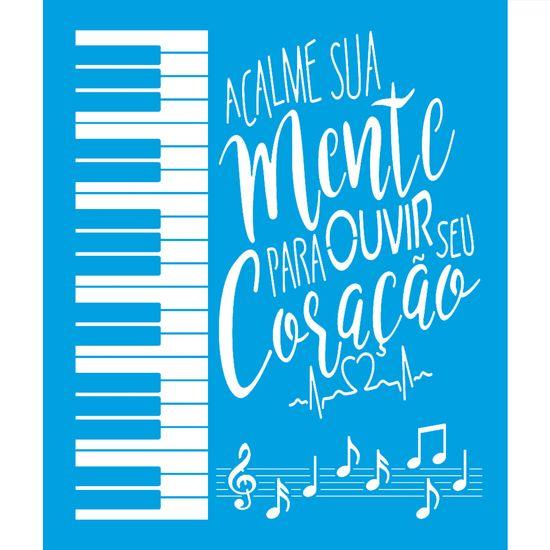 Stencil-Litoarte-25x20-STR-165-Musica-Teclado
