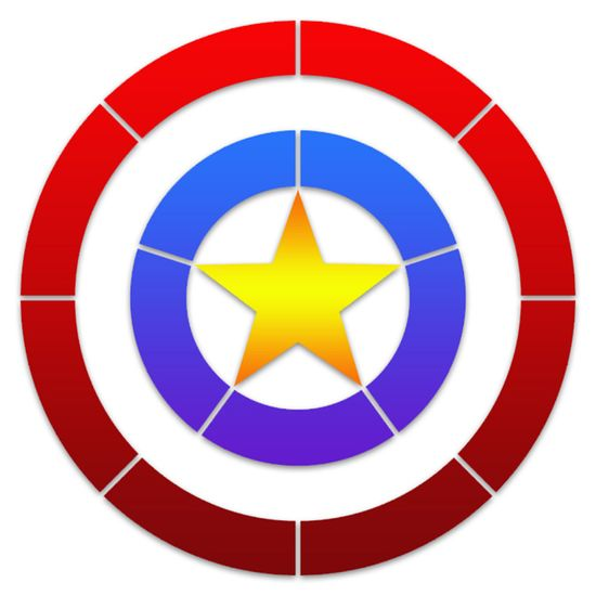 Stencil-Litoarte-10x10-STX-404-Super-Heroi-America