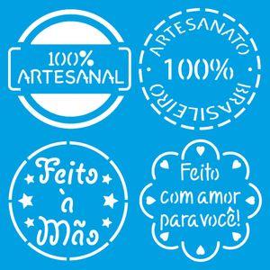 Stencil-Litoarte-10x10-STX-413-Selos