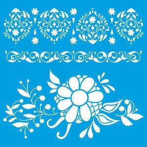 Stencil-Litoarte-20x20-STXX-158-Flores-e-Arabescos