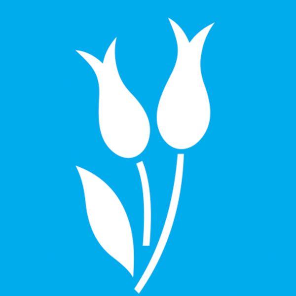Stencil-Litocart-10x10-LSX-065-Flor-Tulipa