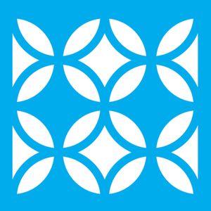 Stencil-Litocart-14x14-LSP-102-Ladrilho-Circulo