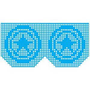 Stencil-Litocart-15x30-LSBCG-026-Croche-Escudo-Capitao