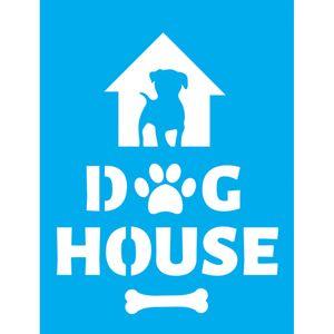 Stencil-Litocart-20x15-LSM-175-Dog-House