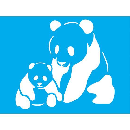 Stencil-Litocart-20x15-LSM-185-Ursos-Panda