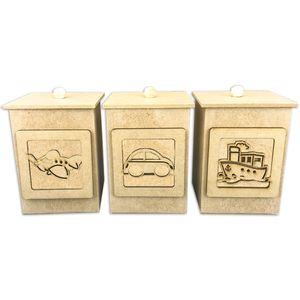 Pote-3D-em-MDF-Transportes-3-pecas-8x8x11cm---Palacio-da-Arte