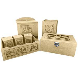 -Kit-Higiene-Bebe-em-MDF-Transportes-7-pecas-com-Farmacinha---Palacio-da-Arte