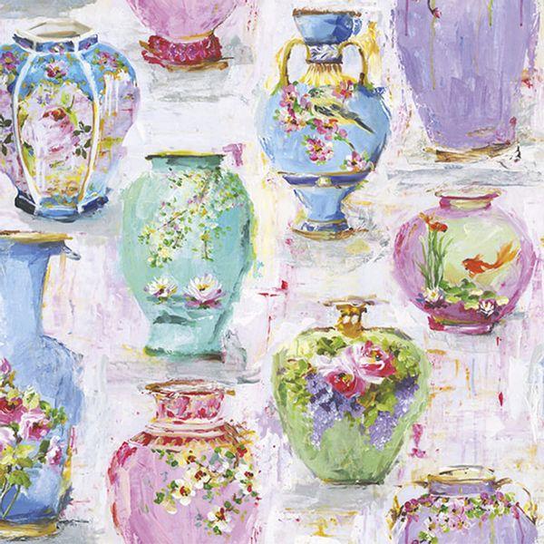 Guardanapo-Decoupage-Ambiente-Luxury-VASES-13313990-2-unidades-Flores-Vasos