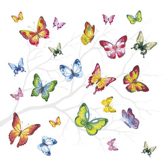 Guardanapo-Decoupage-Ambiente-Luxury-COLORFUL-BUTTERFLIES-13314230-2-unidades-Borboletas-Coloridas