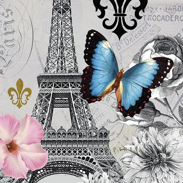 Guardanapo-Decoupage-Ambiente-Luxury-ICI-PARIS-13314240-2-unidades-Paris