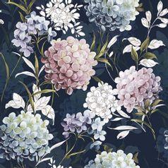 Guardanapo-Decoupage-Ambiente-Luxury-HORANA-DARK-BLUE-13314270-2-unidades-Flores