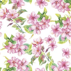Guardanapo-Decoupage-Ambiente-Luxury-CHERRY-BLOSSOM-ROSE-13314295-2-unidades-Flores