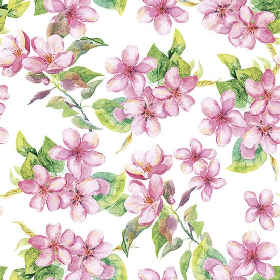 Guardanapo-Decoupage-Ambiente-Luxury-CHERRY-BLOSSOM-ROSE-13314295-2-unidades-Flores