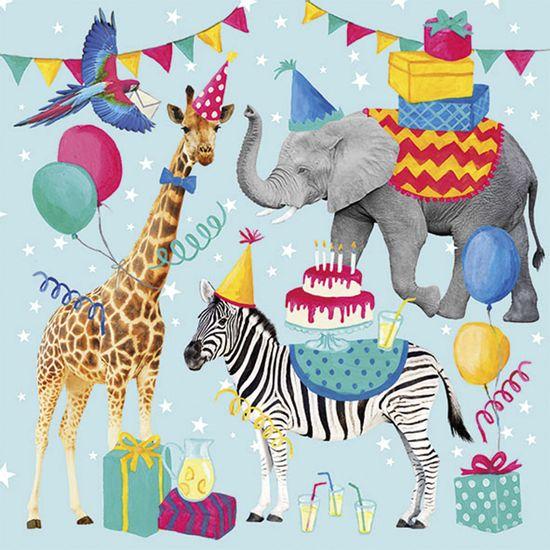 Guardanapo-Decoupage-Ambiente-Luxury-ANIMAL-BIRTHDAY-BLUE-13314310-2-unidades-Aninais-Aniversario