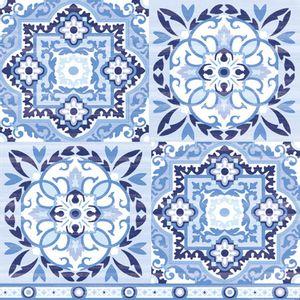 Guardanapo-Decoupage-Ambiente-Luxury-TILES-BLUE-13309317-2-unidades-Azulejo-Azul