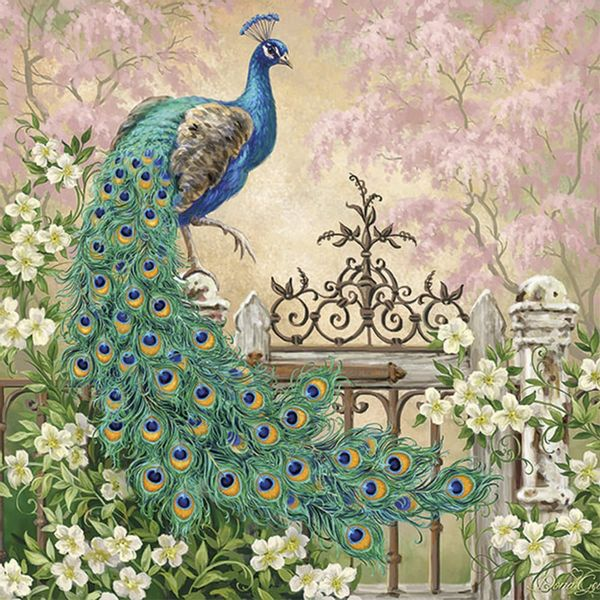 Guardanapo-Decoupage-Ambiente-Luxury-NOBLE-PEACOCK-13313175-2-unidades-Pavao