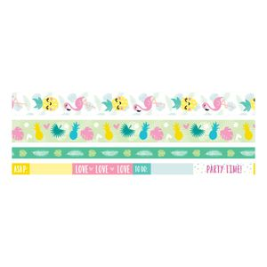 Kit-Fita-Adesiva-Decorativa-Washi-Tape-WER400-Tropical-com-4-pecas