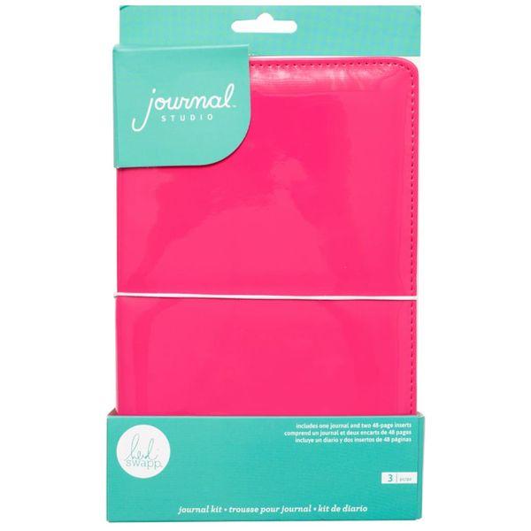 Caderno-para-Journaling-WER341-Rosa-com-48-Paginas