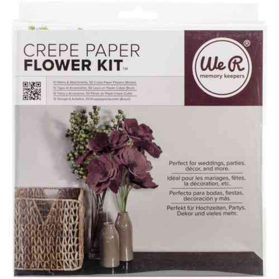 Kit-para-Fazer-Flores-WER419-Marrom