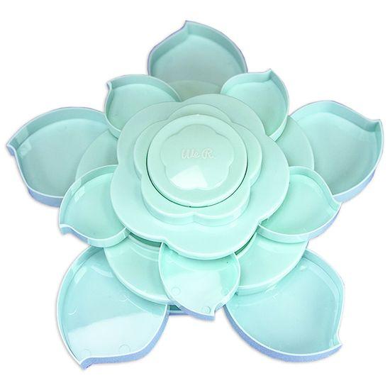 Armazenador-de-Materiais-Bloom-Mini-WER416-Mini-Bloom-Storage-Mint-Azul