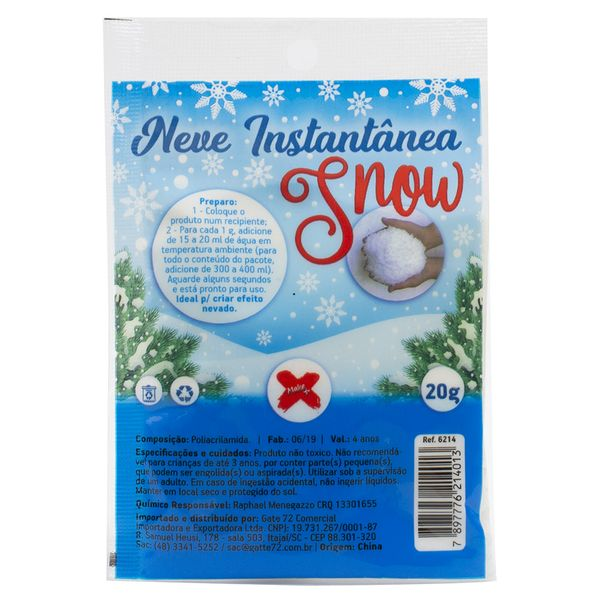Neve-Instantanea-Snow-Make-Mais-6214-20g