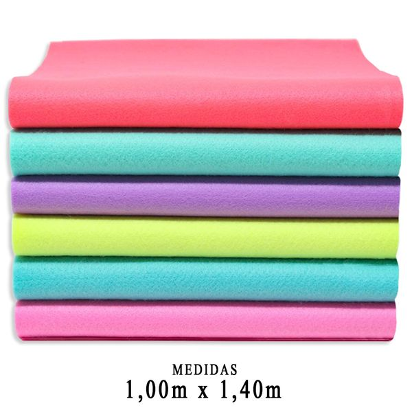 Feltro-Santa-Fe-Liso-Candy-Color-Feltycril-100x140m