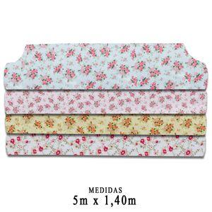 Rolo-Feltro-Santa-Fe-Color-Baby-Floral-Feltycril-5m-x-140m