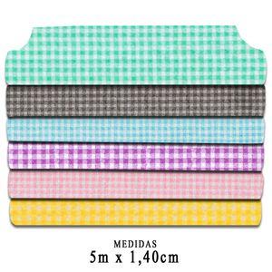 Rolo-Feltro-Santa-Fe-Color-Baby-Xadrez-Feltycril-5m-x-140m