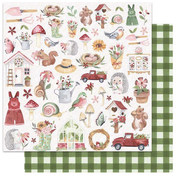 Papel-Scrapbook-My-Memories-Crafts-305x305-MMCMG-001-My-Little-Garden