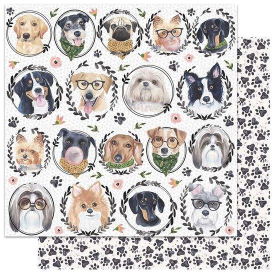 Papel-Scrapbook-My-Memories-Crafts-305x305-MMCMP-001-My-Dog
