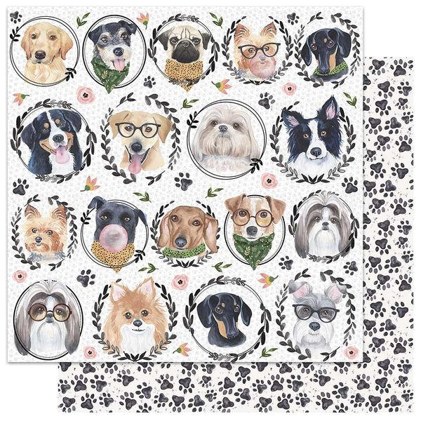 Papel-Scrapbook-My-Memories-Crafts-305x305-MMCMP-001-My-Dog