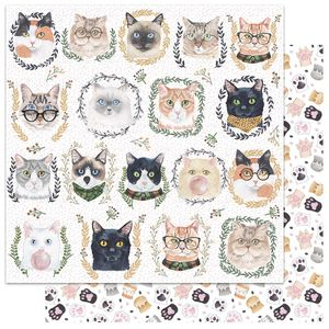Papel-Scrapbook-My-Memories-Crafts-305x305-MMCMP-002-My-Cat