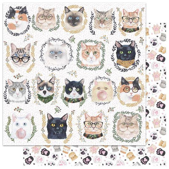 Papel-Scrapbook-My-Memories-Crafts-305x305-MMCMP-002-My-Cat