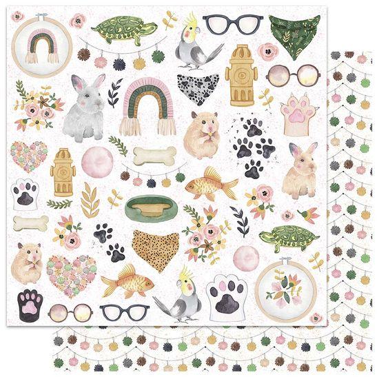 Papel-Scrapbook-My-Memories-Crafts-305x305-MMCMP-003-My-Pets