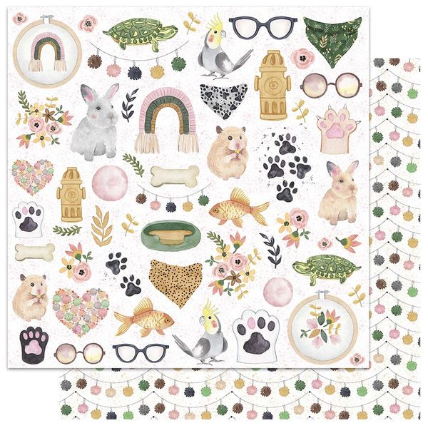 Papel-Scrapbook-My-Memories-Crafts-305x305-MMCMP-003-My-Pets