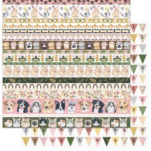 Papel-Scrapbook-My-Memories-Crafts-305x305-MMCMP-006-My-Little-Pet