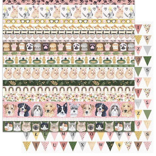 Papel-Scrapbook-My-Memories-Crafts-305x305-MMCMP-006-My-Little-Pet