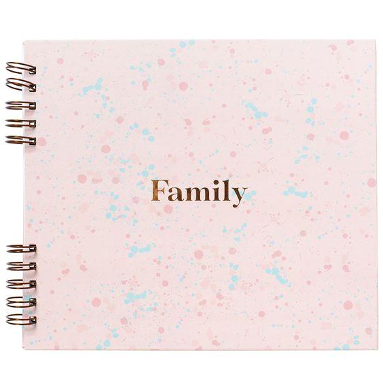 Album-para-Scrapbook-My-Memories-Crafts-22x25cm-Family