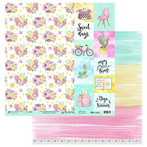 Papel-Scrapbook-My-Memories-Crafts-305x305-MMCMJ-011-My-Routine