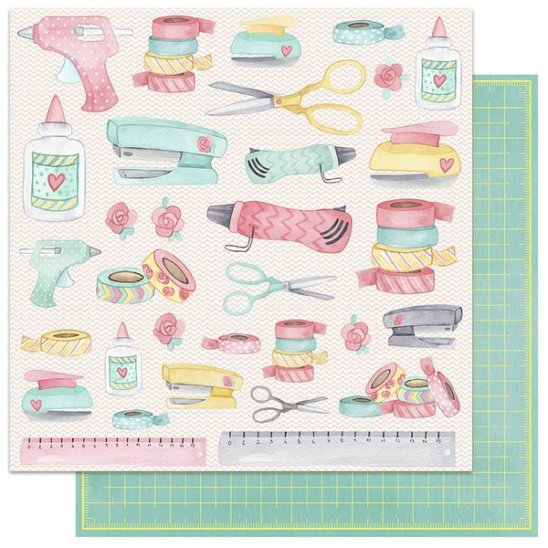 Papel-Scrapbook-My-Memories-Crafts-305x305-MMCMC-001-My-Scrapbook
