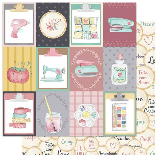 Papel-Scrapbook-My-Memories-Crafts-305x305-MMCMC-005-My-Terapy
