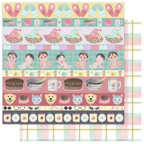 Papel-Scrapbook-My-Memories-Crafts-305x305-My-Generations-MMCMF-006-Bebes
