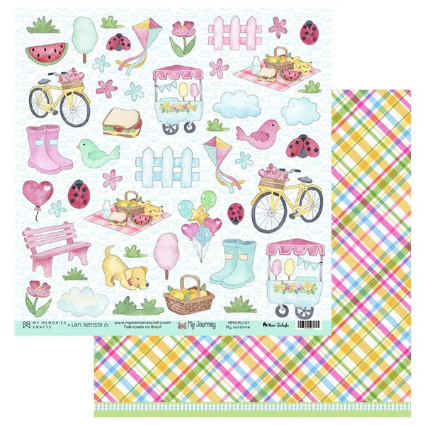 Papel-Scrapbook-My-Memories-Crafts-305x305-MMCMJ-001-My-Sunshine