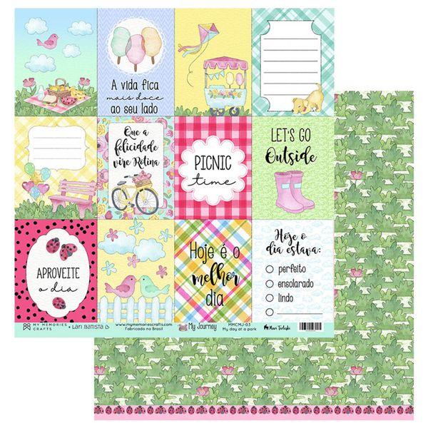 Papel-Scrapbook-My-Memories-Crafts-305x305-MMCMJ-003-My-Day-at-a-Park