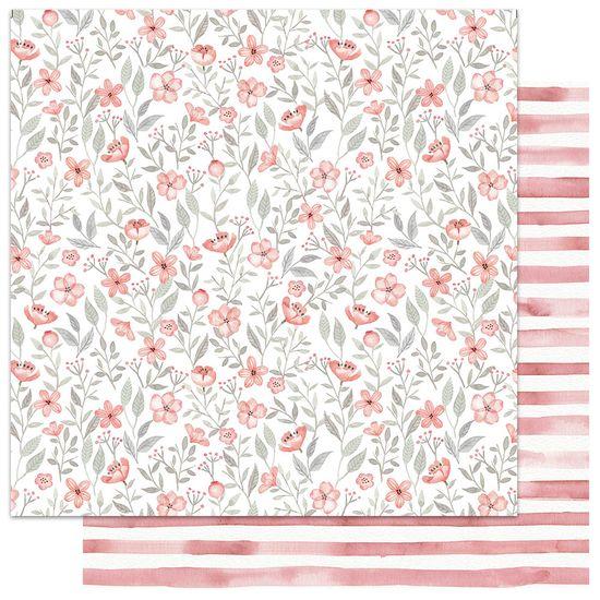 Papel-Scrapbook-My-Memories-Crafts-305x305-MMCMFL-001-My-Flower-Coral