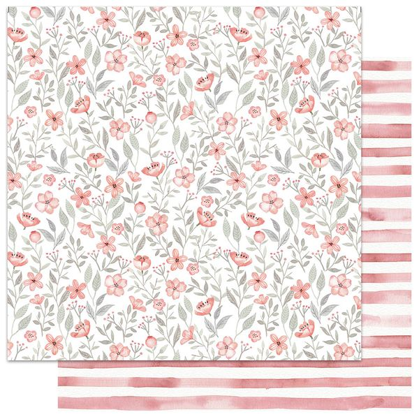 Papel-Scrapbook-My-Memories-Crafts-305x305-MMCMFL-001-My-Flower-Coral