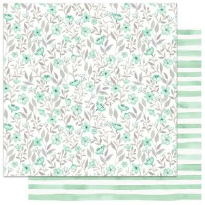 Papel-Scrapbook-My-Memories-Crafts-305x305-MMCMFL-003-My-Flower-Verde