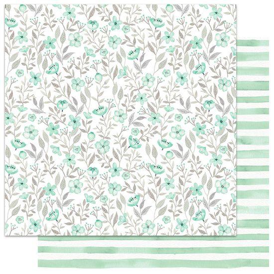 Papel-Scrapbook-My-Memories-Crafts-305x305-MMCMFL-003-My-Flower-Verde